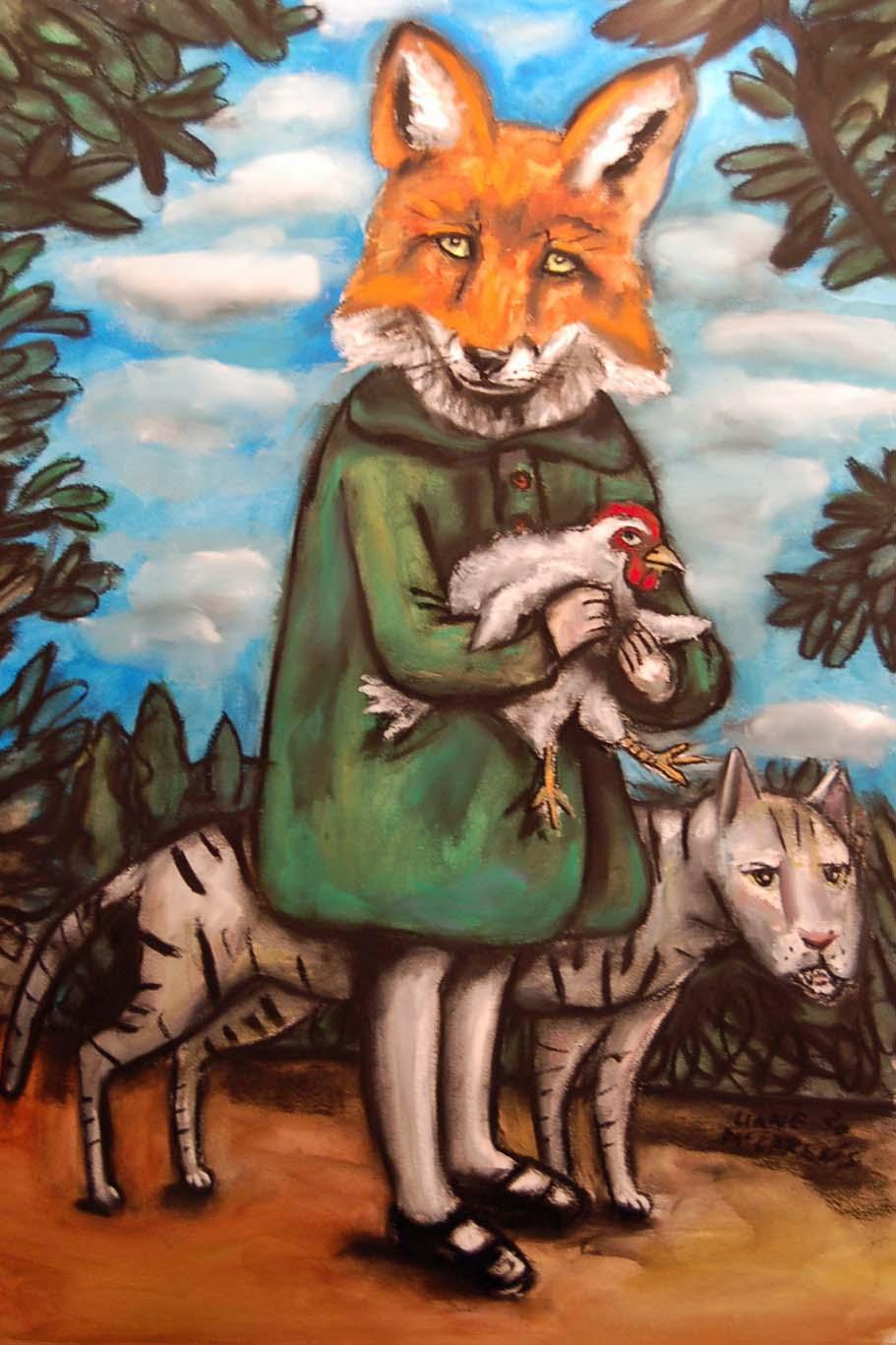 True Fox, a self portrait